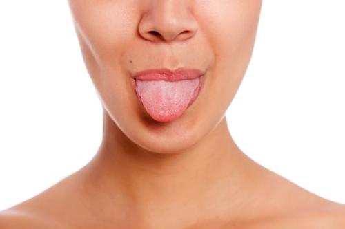 Beschichtung auf der Zunge